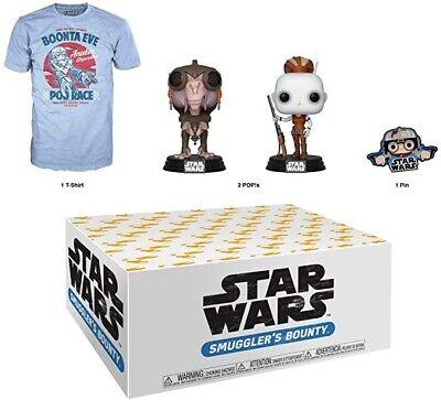 New! Funko POP Star Wars Smuggler's Bounty Subscription Box Shirt Size 3XL