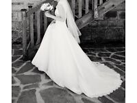 Allure private collection wedding dress - size 10