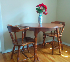 NEED GONE ASAP!! Wooden Dining Table Set