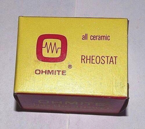 Ohmite Rheostat RHS50R 25 Watt 50 Ohms