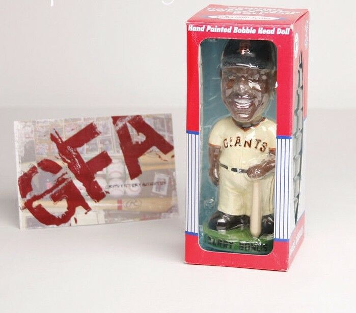 Barry Bonds *San Francisco Giants* Hand Painted Bobblehead Doll NEW in Box COA