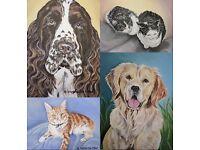 Pet Portraits Make Beautiful Gifts