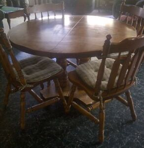 Solid Wood Dining Set Prince George British Columbia image 2