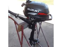 2006 Suzuki 2.5hp 4stroke outboard/Auxiliary for tender/dingy.