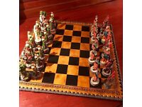 Robin Hood and King John Chess Set