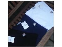 Moncler t shirts for sale different colours and sizes