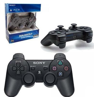 NEW Original Replacement Sony PS3 Wireless Dualshock 3 Controller - BLACK