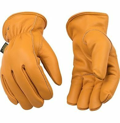 Kinco 81hk Mens Work Gloves Lined Buffalo Leather Warm Winter Thermal Ranch Farm