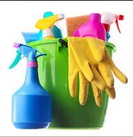 J'offre mes services pour ménage!!!