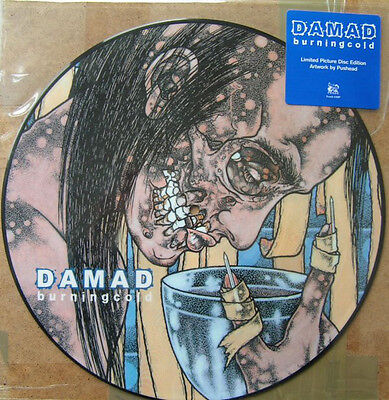 DAMAD  burning cold PICTURE LP