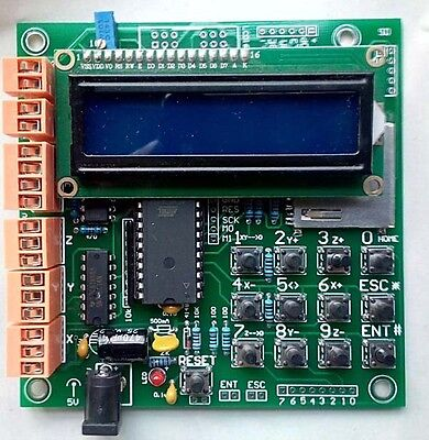 3 Axis Stand-alone Cnc Stepper Motor Controller With Lcd1602 Screen Module New