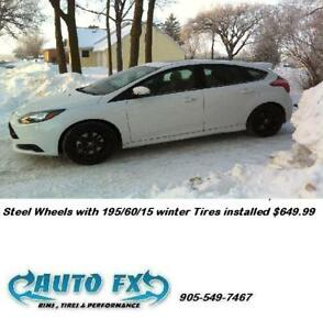 Winter Rim and Tire Packages $60.00 a month