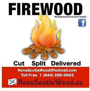 Hardwood Firewood     $289 Cord    Delivered      Call Toll Free:1-844-296-WOOD (9663)