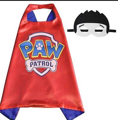 One Set Brand New PAW PATROL Ryder Superhero  Cape And Mask Set PAW PATROL