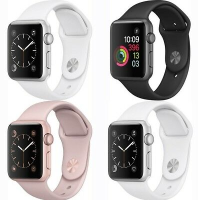Apple Watch Series 2 38mm / 42mm Smart Watch Aluminum Case with Sport Band