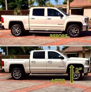 "2"" Levelling Kits for 2007-2016 Silverado / Sierra 1500"