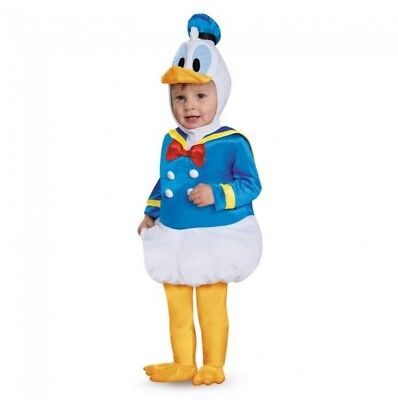 Disney Donald Duck Prestige Baby Infant Costume | Disguise 85626 - Duck Baby Costume