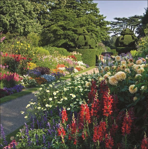 Nymans Garden National Trust Greeting Cards Gift Card With Pot Of Tea Voucher