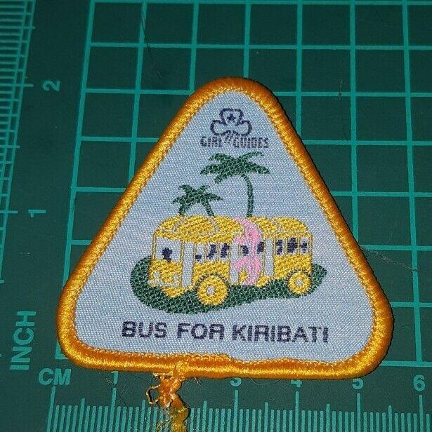 Girl Guides Bus For Kiribati Badge