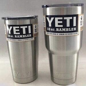 BRAND NEW YETI RAMBLERS (20 oz. OR 30 oz.) - Assorted Colors