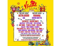 1X V-FESTIVAL WESTON PARK, WEEKEND CAMPING AND VIP UPGRADE