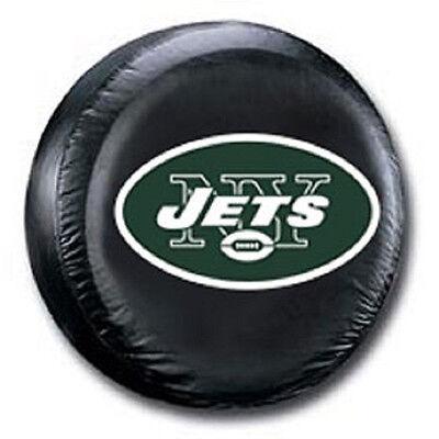New York Jets Tire Cover (New York Jets Medium Spare Tire Cover [NEW] NY NFL Car Auto Wheel Nylon)