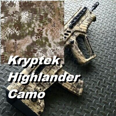 19x39 Kryptek Highlander Camo Water Transfer Printing Filmhydrographic Aqua Us