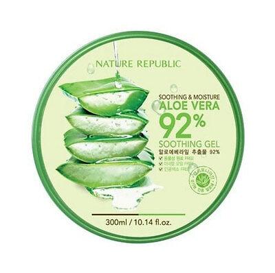 [Nature Republic] Soothing & Moisture Soothing Aloe Vera 92% Gel 300ml