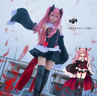NEU Seraph Damen Cosplay Vampir Kostüme Anime Cosplay Halloween Anzug