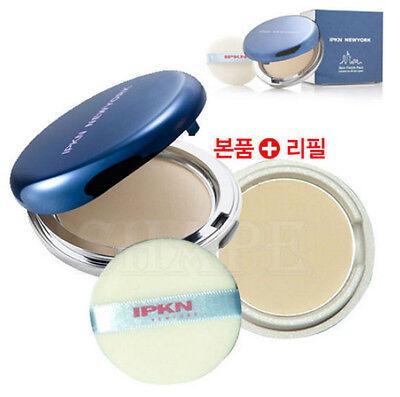 [IPKN] IPKN New York  Skin Finish Pact  #23 Natural Beige Main Pact + Refill