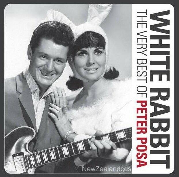 Peter Posa White Rabbit 24 track 2012 best of cd New Zealand 1960s guitar legend