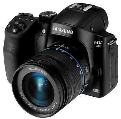 Samsung NX 30 Smart Wi-Fi Video Digital Camera 18-55mm III Lens +16GB -NTSC/PAL