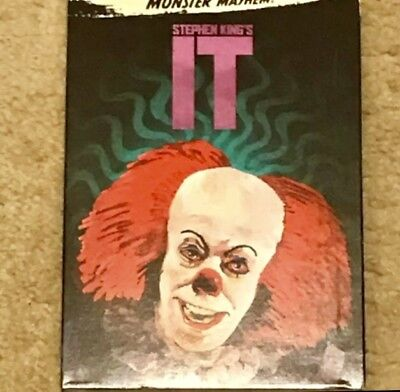 Stephen King's It Madness Pennywise Clown 🤡 (Format: DVD) Halloween 🎃 - Clown Halloween Movies