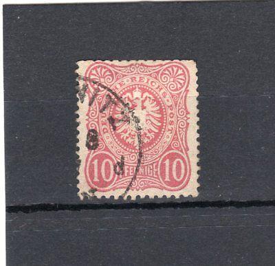 Germany 1875 10pf carmine FU SG 33 (2)