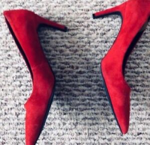 Red Le Chateau Heels - Size 8.5