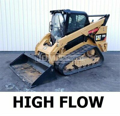 2015 High Flow Caterpillar 289d Cab Air Heat Track Skid Steer Loader Cat 289
