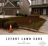 Commercial mowing and landscaping
