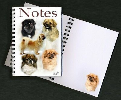 Tibetan Spaniel Notebook/Notepad - with a small image on every page by Starprint