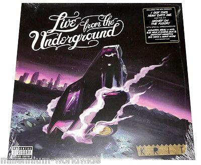 "NEW & SEALED - BIG K.R.I.T. - LIVE FROM THE UNDERGROUND - 2X 12"" VINYL LP / KRIT"