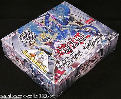 YuGiOh PRIMAL ORIGIN Booster Factory Sealed Box, English 1st Edition, 24 Packs