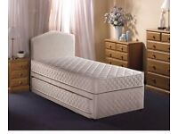 ☀️☀️🎀 Single Bed/Double/Small Double/King Divan Bed With 1000 POCKET MATTRESS-SAME DAY DELIVERY!!💕