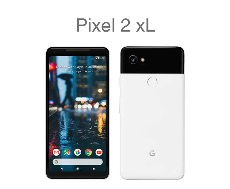 Google Pixel 2 XL 64G/128GB 6.0'' Verizon GSM Unlocked 4G LTE Android Smartphone