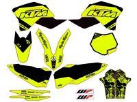 KIT KTM SX EXC 2008 , 2009 , 2010 , 2011 Sticker best quality.
