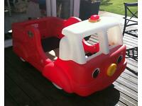 Step 2 toddlers fire engine bed