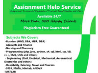 Expert Help-Essay,Assignment,Coursework,Dissertation,Business Programming, Nursing, Engineering HELP