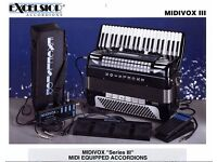 Excelsior MidiVox Mk3 Power Supply & Pedal Board with leads and bag