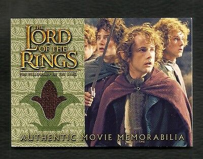 2002 Topps Lord of the Rings Fellowship of the Ring Update PIPPINS TRAVEL CLOAK