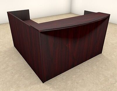 3pc L Shaped Modern Office Reception Desk Ot-sul-r7