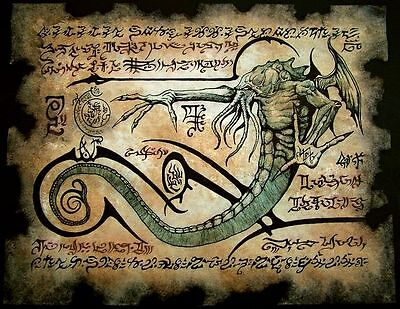 CTHULHU RITUALS larp necronomicon lovecraft monster occult grimoire cosplay