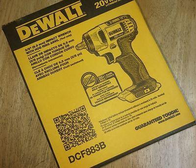 Dewalt Dcf883b 20 Volt Max Lithium Ion 3 8 Inch Impact Wrench With Hog Ring